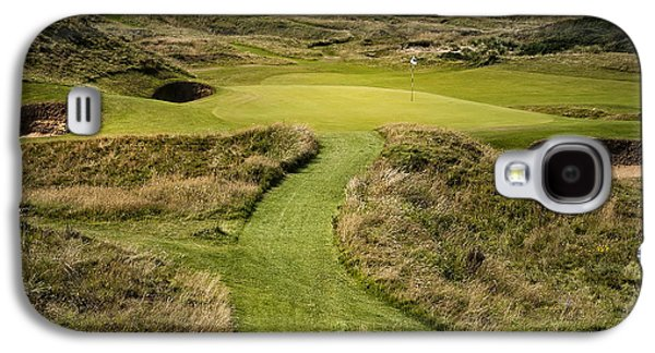 The Postage Stamp - Royal Troon Golf Course Galaxy S4 Case