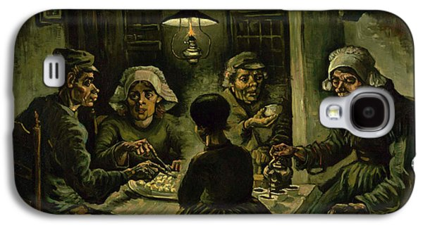 The Potato Eaters, 1885 Galaxy S4 Case by Vincent Van Gogh