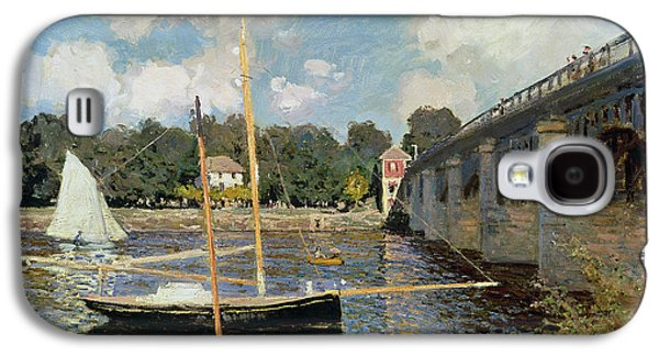 Boat Galaxy S4 Case - The Seine At Argenteuil by Claude Monet