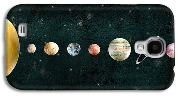 The Solar System Galaxy S4 Case by Bri B