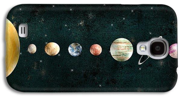 The Solar System Galaxy S4 Case