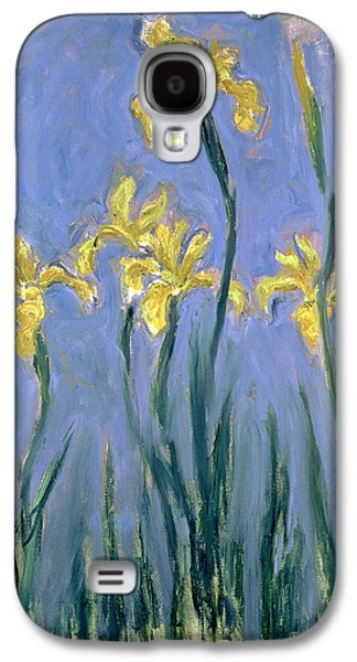The Yellow Irises Galaxy S4 Case by Claude Monet