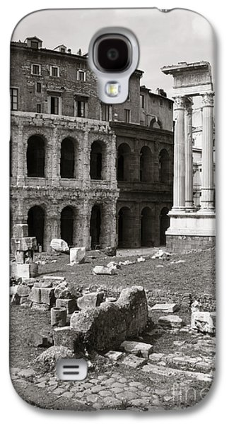 Theatre Of Marcellus Black And White Galaxy S4 Case by Stefano Senise