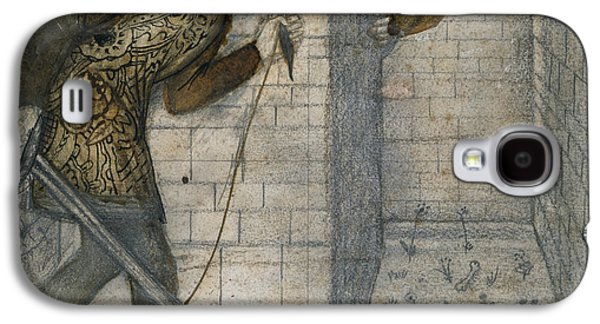 Minotaur Galaxy S4 Case - Theseus And The Minotaur In The Labyrinth by Edward Burne-Jones