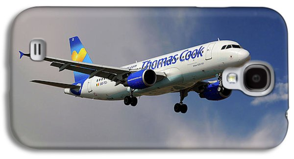 Thomas Cook Airlines Airbus A320-214 Galaxy S4 Case