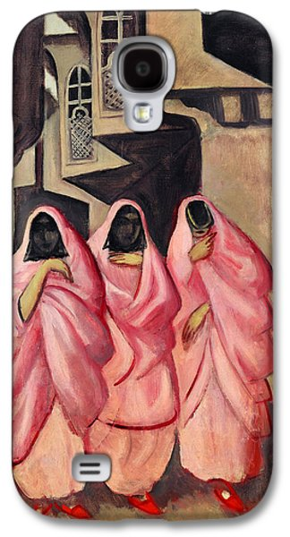 Three Women On The Street Of Baghdad Galaxy S4 Case by Jazeps Grosvalds