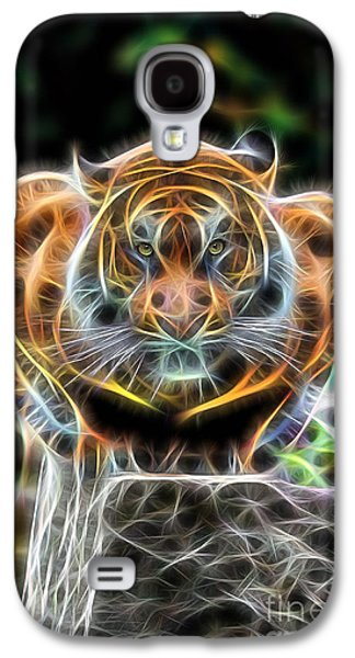 Tiger Collection Galaxy S4 Case by Marvin Blaine