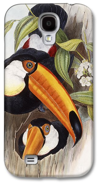 Toucan Galaxy S4 Case by John Gould