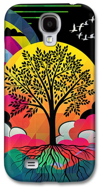 Tree Galaxy S4 Case by Mark Ashkenazi