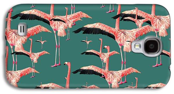 Tropical Flamingo  Galaxy S4 Case