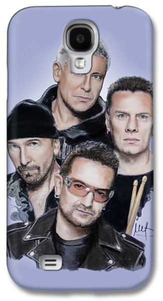 U2 Galaxy S4 Case by Melanie D