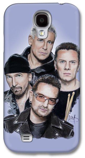 U2 Galaxy S4 Case by Melanie D
