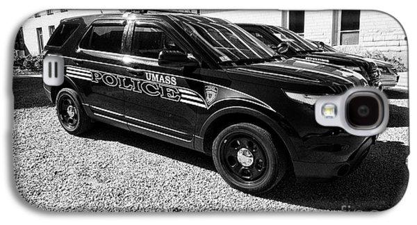 umass university campus police patrol vehicle Boston USA Galaxy S4 Case