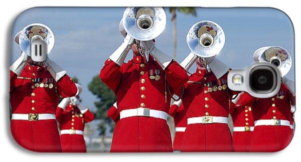 U.s. Marine Corps Drum And Bugle Corps Galaxy S4 Case