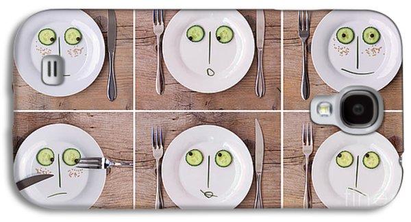 Vegetable Faces Galaxy S4 Case
