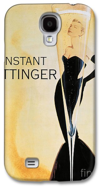 Vintage French Champagne Galaxy S4 Case