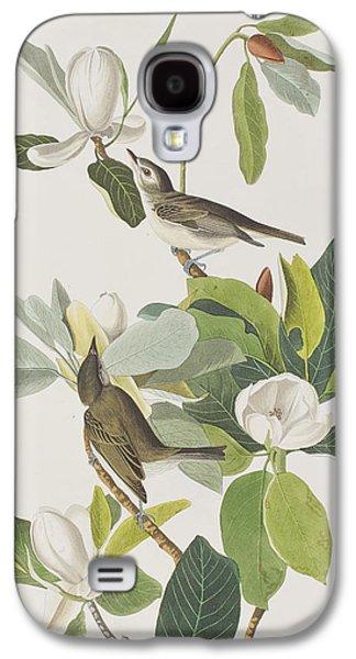 Warbler Galaxy S4 Case - Warbling Flycatcher by John James Audubon