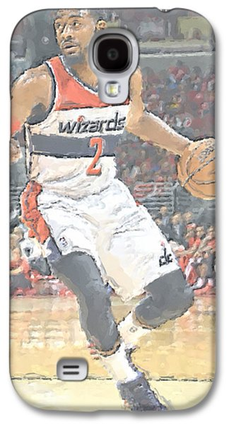Washington Wizards John Wall Galaxy S4 Case by Joe Hamilton