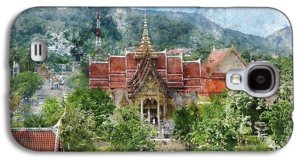 Wat Chalong In Phuket Thailand Galaxy S4 Case