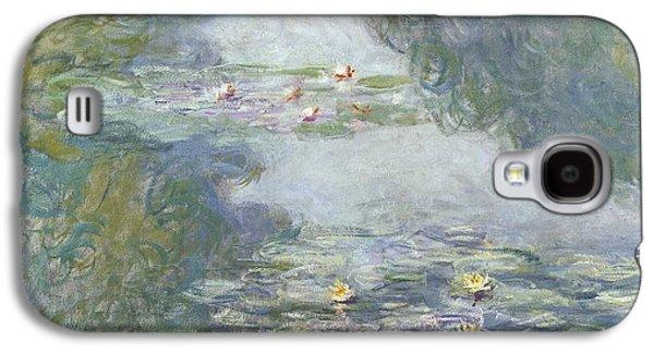 Waterlilies Galaxy S4 Case by Claude Monet