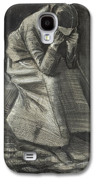 Weeping Woman Galaxy S4 Case by Vincent Van Gogh