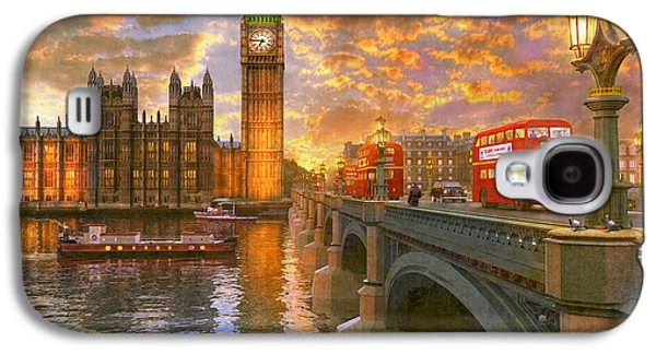 Westminster Sunset Galaxy S4 Case