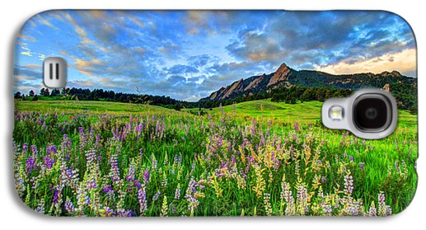 Wildflower Wonder Galaxy S4 Case by Scott Mahon
