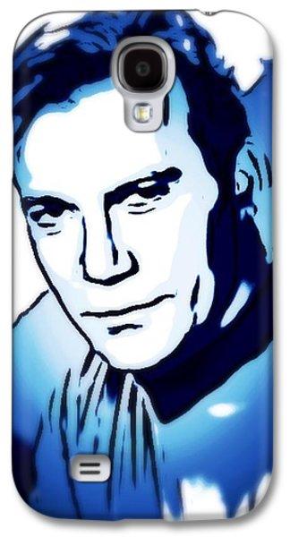 William Shatner As Captain Kirk Galaxy S4 Case