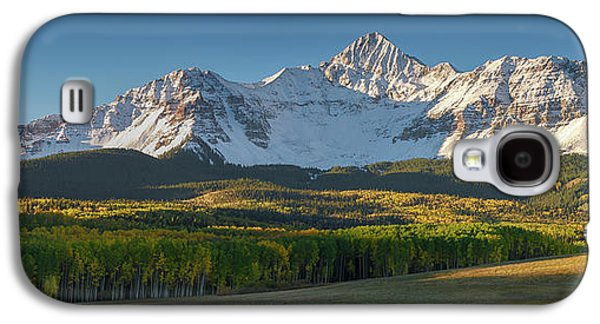 Galaxy S4 Case featuring the photograph Wilson Peak Panorama by Aaron Spong