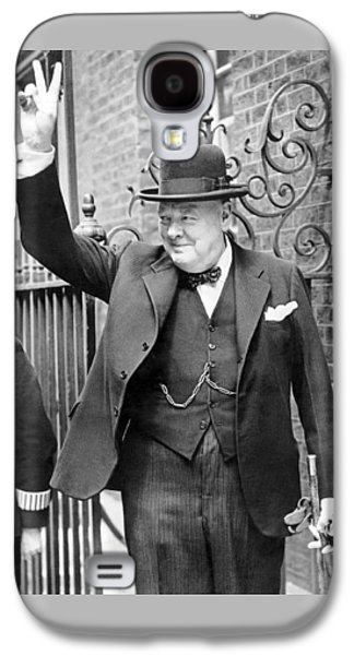 Winston Churchill Galaxy S4 Case by English School