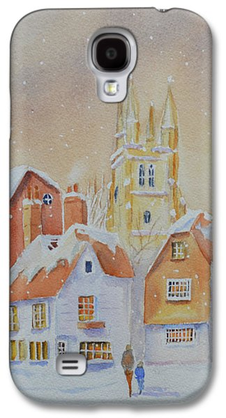 Winter In Tenterden Galaxy S4 Case by Beatrice Cloake