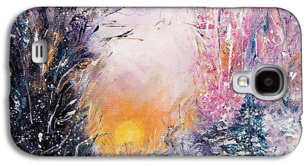 Winter Landscape Galaxy S4 Case by Boyan Dimitrov