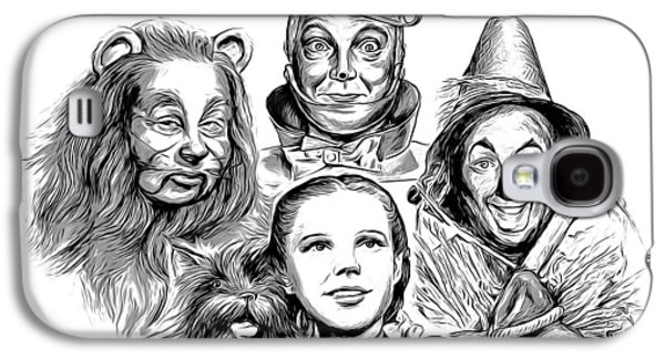 Wizard Galaxy S4 Case - Wizard Of Oz by Greg Joens