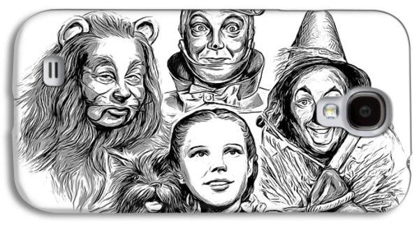Wizard Galaxy S4 Case - Wizard Of Oz by Greg Joens
