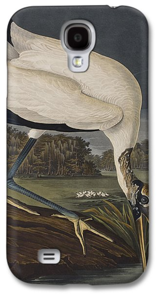 Wood Ibis Galaxy S4 Case by John James Audubon
