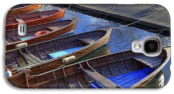 Wooden Boats Galaxy S4 Case by Joana Kruse