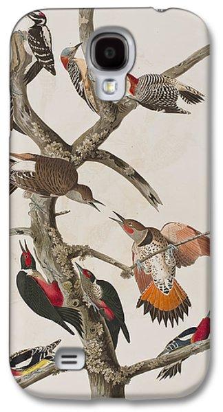 Woodpeckers Galaxy S4 Case