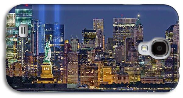 World Trade Center Wtc Tribute In Light Memorial II Galaxy S4 Case
