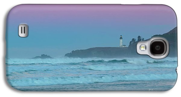 Yaquina Head Lighthouse Galaxy S4 Case by Richard Sandford