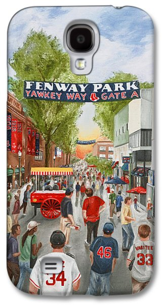 Yawkey Way Galaxy S4 Case by Christine Da Silva
