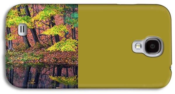 Yellow Autumn Galaxy S4 Case by Karol Livote