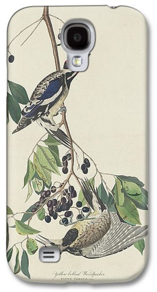 Yellow-bellied Woodpecker Galaxy S4 Case by John James Audubon