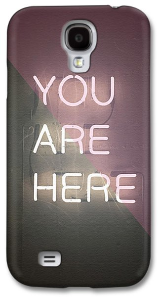 You Are Here Galaxy S4 Case