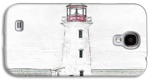 You're My Beacon Peggy's Cove Lighthouse Galaxy S4 Case