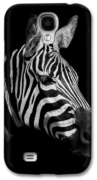 Zebra Galaxy S4 Case by Paul Neville