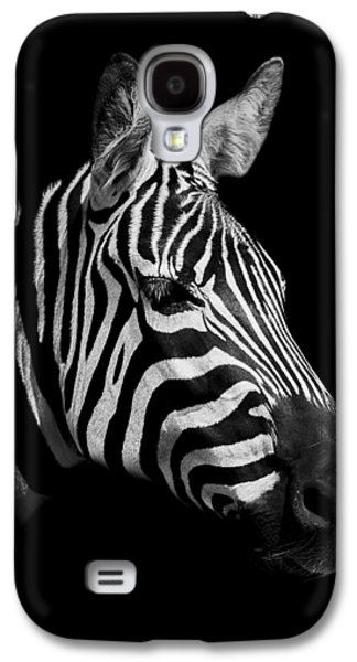 Zebra Galaxy S4 Case by Paul Neville