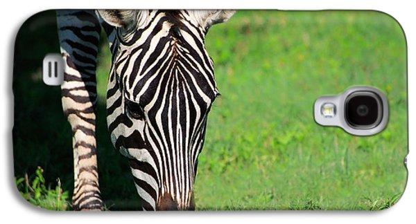 Zebra Galaxy S4 Case by Sebastian Musial