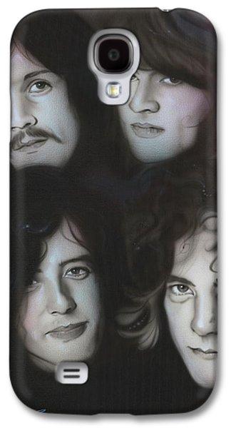Robert Plant Galaxy S4 Case - Zeppelin by Christian Chapman Art