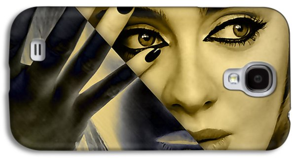 Adele Galaxy S4 Case - Adele Collection by Marvin Blaine
