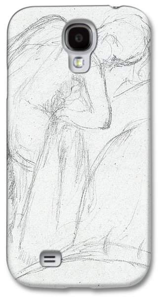 After The Bath Galaxy S4 Case by Edgar Degas